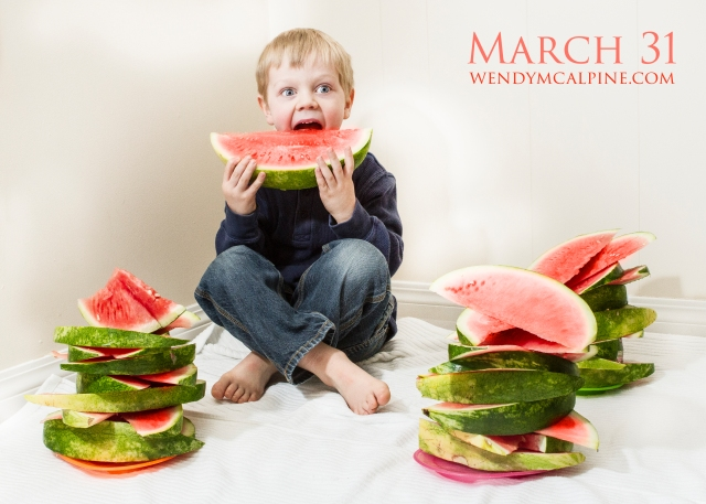 asher with watermelon watermark
